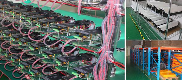 先进生产车间,进口生产设备,产品合格率高